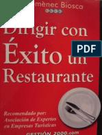 Como Dirigir Con Exito Un Restaurante