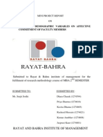 Mini Report Project Report