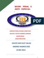 DERECHO PENAL II UC3M PARTE ESPECIAL
