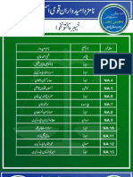 JI Final Candidates Elections 2013