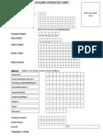 Kyc Format BpcKYC