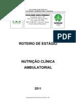 ROTEIRO DE AMBULATÓRIO 2011
