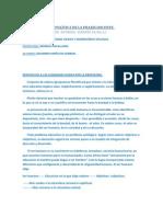 DIMENSIÓN ÉTICO POLÍTICA DE LA PRAXIS DOCENTE