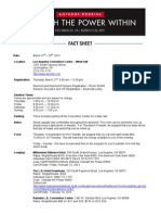2013 UPW Los Angeles Fact Sheet