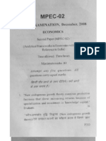 Mphil question paper