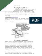 Methods of Repairing Active Cracks In