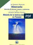 Octavio Méndez Pereira- Historia de la Instrucción Pública en PanamáTomo_XII