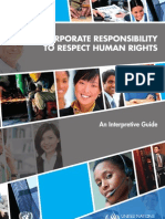 THE CORPORATE RESPONSIBILITY