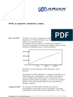 PT100 Su Operacion Instalacion y Tablas