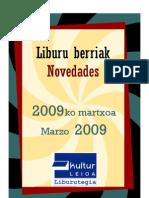 2009 Martxoa-Marzo 2009