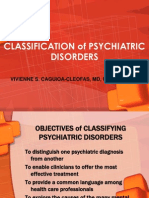 Classification Psychiatric Disorders