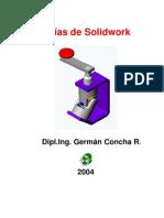 guías de solidwork