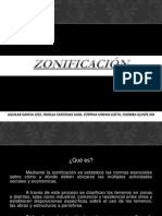 ZONIFICACION - DENSIDAD