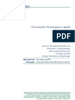 Osteomielite Hematogênica Aguda - Projeto Diretrizes