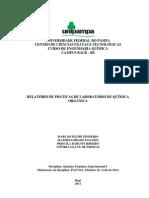 Relatório_de_Práticas_de_Laboratório_de_Química_Orgânica_-_Universidade_Federal_do_Pampa_-_UNIPAMPA