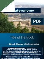 05 Deuteronomy