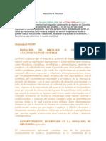 DONACION de ORGANOS Legislacion y Sentencias