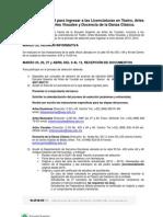 Convocatoria  ESAY Selección 2013-2014