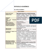 Protocolo 100103 metodologia de la investigación