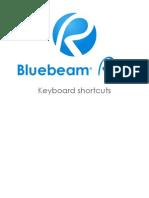 Bluebeam Keyboard Shortcuts