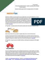 Telecom Uncovered Report 25th April 2013