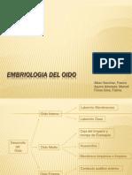 Embriologia Del Oido