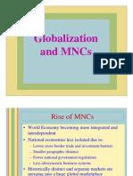 Globalzation1 Notes