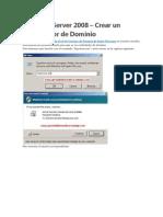 Implementacion de Servidor de Dominios y DNS