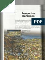Reforma Protestante - livro HISTÓRIA v1 Ronaldo Vainfas e outro