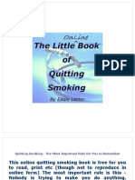Little Book of Quitting Smoking