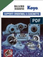 KOYO - Supporti Orientabili a Cuscinetto