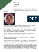 Elizabeth Bathory 1560-1614