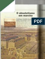 Absolutismos - HISTÓRIA v1 Ronaldo Vainfas e autores