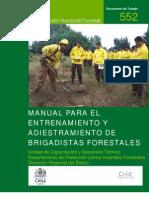 MANUAL PARA ENTRENAMIENTO DE BRIGADAS FORESTALES