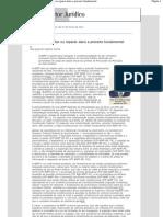 ADPF - Evitar Ou Reparar Dano a Preceito Fundamental