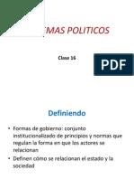 Clase 16 - Sistemas políticos - Democracia, Autoritarismo y Totalitarismo