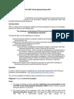 Call for IPSF Critical Appraisal Essay 2013