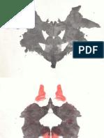 Rorschach - Laminas - Test Completo