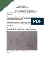 Logo Design Development for Space Bus
