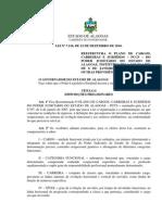 2.  Plano de cargos, carreiras e salários dos servidores do poder judiciário de AL