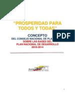 CONCEPTO Consejo Nacional Planeacion