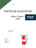 Partes de Un Extintor