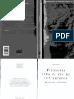 Duque Felix - Filosofia Para El Fin de Los Tiempos