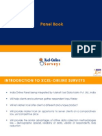 Xcel-Online Surveys Panel Book - India