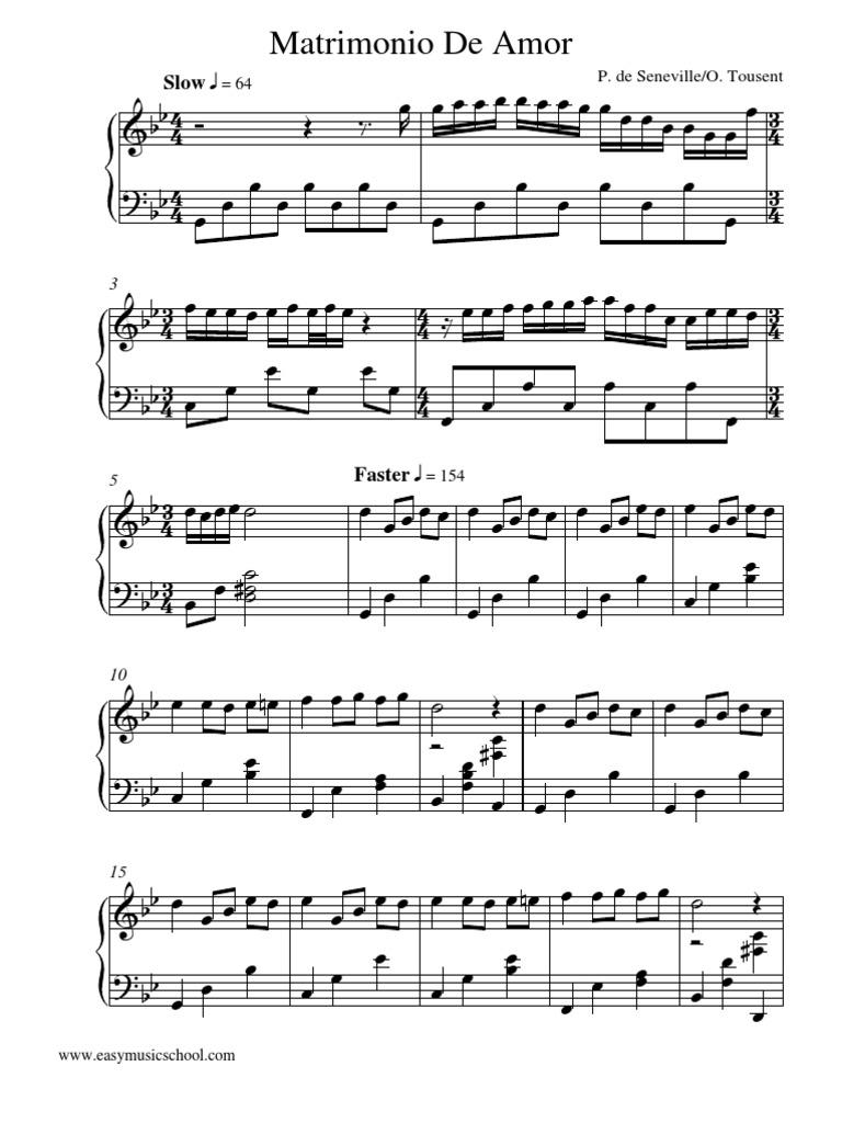 Matrimonio De Amor : Matrimonio de amor richard clayderman instrumental piano