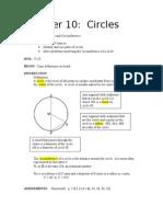 Chapter 10 Circles