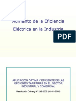 Tarifas Electricas -