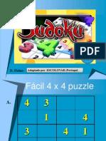 Sudoku 4x4.Projectar