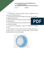 resumen de modelos atómicos