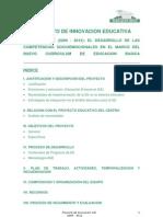 1proyecto de Innovacion Educativa. Proyecto Ase